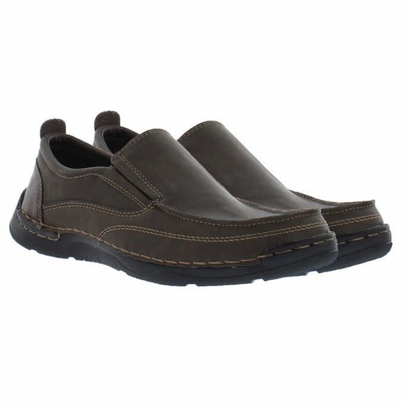 Izod Men's Thomas Memory Foam Slip On Shoes